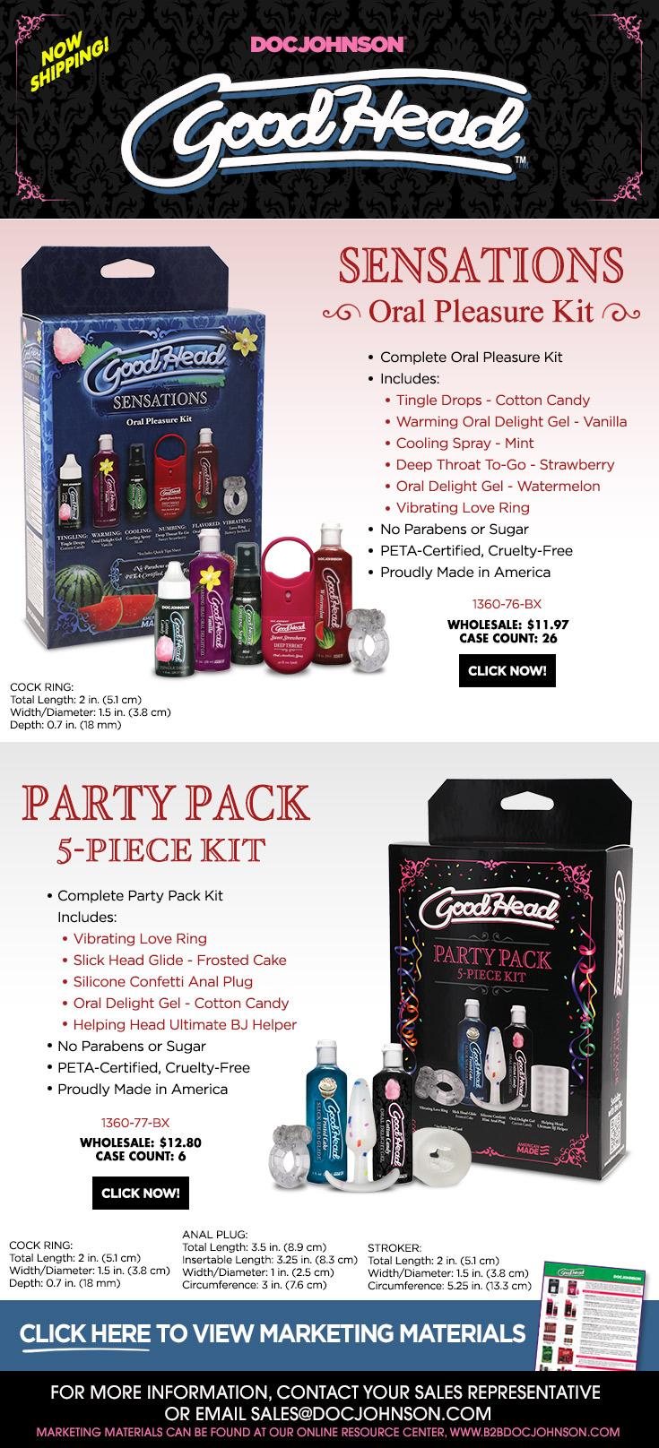 GoodHead Party Kits